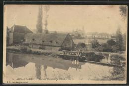 CPA Arnay-le-Duc, Ancien Moulin De Burot - Arnay Le Duc