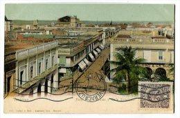 VERACRUZ Hotel De Diligencias Y Calle Principal Carte Précurseur - Mexiko