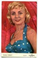 Annie CORDY Carte Dédicacée 1959 - Artisti
