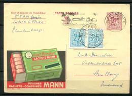 """Belgien 1971 Werbepostkarte Nr.Publibel 2305 F Mit Zusatzfrankatur """"bef.Blankenberge-Den Haag,Nederlande""""1 GS Used,bef. - Ganzsachen"""