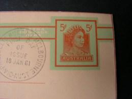 == Australia Cv. 1961  Letter Sheet - Ganzsachen