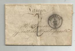 DA PALLANZA PER PERUGIA -1862 - 1861-78 Vittorio Emanuele II