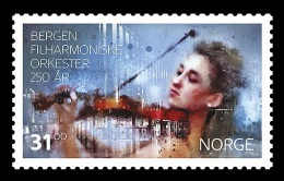Norway 2015 Mih. 1897 Music. Bergen Philharmonic Orchestra MNH ** - Norway