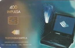 BOSNIA - ISDN(400 Units), 04/99, Used - Bosnia