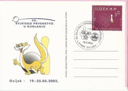 24th World Championship In Bowling - SPUK, Osijek, 19.5.2002., Croatia, Carte Postale