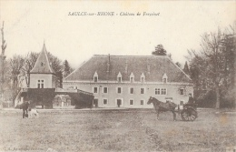 Saulce-sur-Rhône (Drôme) - Château De Freycinet - Attelage - Edition Revertega (Revertegat) - Francia
