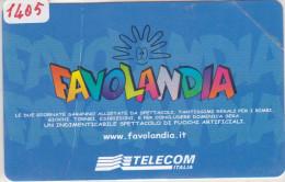 SCHEDA TELEFONICA CATALOGO  GOLDEN N°. 1405 - COME FOTO - N U O V A - Italia
