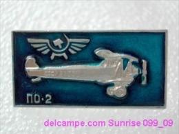 Soviet Airplane PO-2 / Soviet Badge _099_0026_09 - Vliegtuigen
