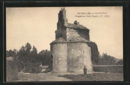 CPA Peyrolles-en-Provence, Chapelle Du Saint Sepulcre - Peyrolles