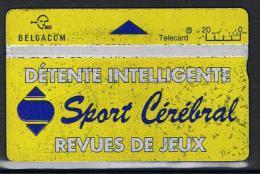 Belgacom Sport Cérébral Serienummer 551A - Belgique