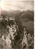 74. CPSM. Haute Savoie. Annecy. Le Téléphérique, Terrasse Inférieure (petite Animation) - Annecy