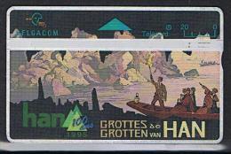 Belgacom Grotten Van Han Serienummer 523B - Belgique