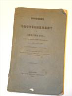 Histoire Du Gouvernement De Neuchâtel Sous La Domination Prussienne, Depuis 1807 Jusqu´en 1832, Par Un Patriote Du Val-D - Livres, BD, Revues