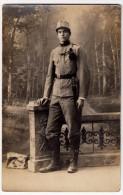 FOTOGRAFIA DI MILITARE - Vedi Retro - F. P. - Uniformi