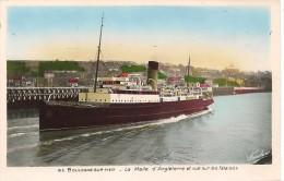 CPA-1930-62-BOULOGNE-LA MALLE DANGLETERRE -TBE - Ferries