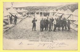13 CARPIAGNE Un Coin Du Camp  1903 Cassis ( Dos Simple ) - Zonder Classificatie