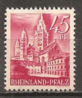Rheinland-Pfalz 1947 // Mi. 10 ** (027..068) - Zone Française