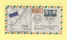 Aerogramme - Tirage 1200 Exemplaires - Ligne Mermoz - Paris Destination Bresil - 1971 - Marcophilie (Lettres)