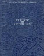 Gift-book Begrüßung Postleitzahlen 5-stellig 1993 BRD 16 Ausgaben O 56€ Geschenk-Buch Edition PLZ Stamp Document Germany - Collections