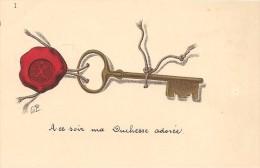 4-CPA-1910-CLE DE RENDEZ VOUS-TBE - Souvenir De...
