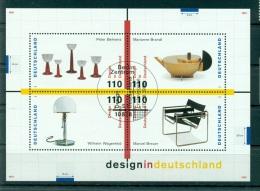 Allemagne -Germany 1998 - Michel Feuillet N. 45 - Design En Allemagne - [7] République Fédérale