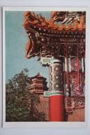 China. Beijing. Peking SUMMER GARDEN  -  Old Postcard - 1957 - China