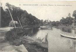 56 - BELLE-ILE-EN-MER - Le Palais, Chantier De Construction Maritime. - Belle Ile En Mer