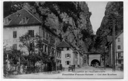 Frontiere Française Hotel Du Col Des Roches - Customs