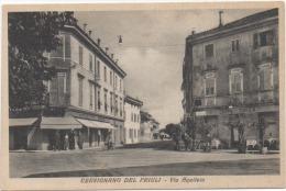 Cervignano Del Friuli (Udine): Via Aquileia - Formato Piccolo Non Viaggiata - Udine