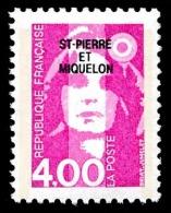 ST-PIERRE ET MIQUELON 1992 - Yv. 556 **   Faciale= 0,61 EUR - Mar.Bicentenaire 4f Rose ..Réf.SPM11089 - Neufs