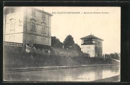 CPA Puy-Sainte-Réparade, Bassin Du Chateau Arnajon - France