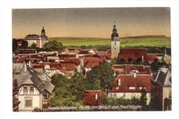Allemagne: Sondershausen, Parfie Mit Schloss Und Stadtkirche (15-3833) - Sondershausen