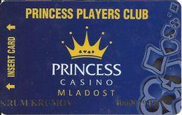 Princess Casino Mladost Bulgaria Players Club Card - Casino Cards