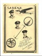 SABENA - Février 1935. Souvenir Du Premier Départ De La Liaison Aérienne Belgique-Congo. - 1919-1938: Fra Le Due Guerre