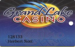Grand Lake Casino Grove OK Slot Card - Casino Cards