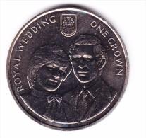 1981 Gibraltar Royal Wedding Crown Coin - Gibraltar