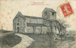 03 - CHATEL DE NEUVRE - L'EGLISE - CPA VOYAGEE - 1909. - Sin Clasificación