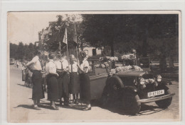 Pfadfinder Mädchen Frauen / Oldtimer Orig. Foto AK - Postcards