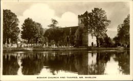 N°167 PPP 347 BISHAM CHURCH AND THAMES NR MARLOW - Angleterre