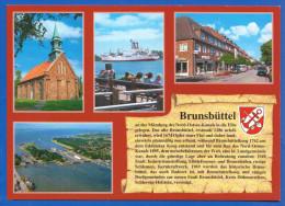 Deutschland; Brunsbüttel; Multibildkarte - Brunsbuettel