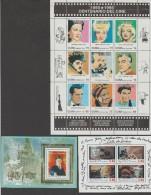 FRANCE+CUBA  BLOC  CINEMA  **MNH     Réf C180 - Cinema