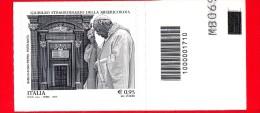 Nuovo - ITALIA - 2015 - Giubileo Della Misericordia - Papa Francesco E Basilica San Pietro - 0,95 € - Barre 1710 - Code-barres