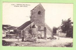 VOISEY : L'Eglise, Le Calvaire 2 Scans. Edition C L B - Frankreich