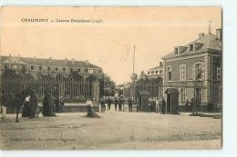 Chaumont : Caserne Damrémont, 109e Régiment D'Infanterie. 2 Scans. Edition Galeries Modernes - Chaumont
