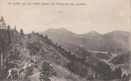 Der Große Und Der Kleine Donon Von Fréconrupt Aus Gesehen - France