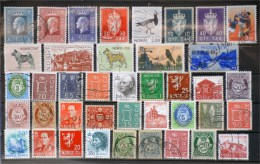 Norway-Lot Stamps (ST490) - Collections
