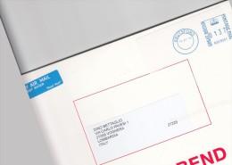 Gran Bretagna - Lettera X L´Italia Affrancata Con 1 Val. Postage Paid - Post & Go Stamps