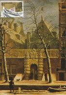 D21522 CARTE MAXIMUM CARD FD 1982 NETHERLANDS - GATE UNIVERSITY AMSTERDAM CP ORIGINAL - Architecture