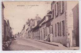 Rouvray - La Grande Rue - France