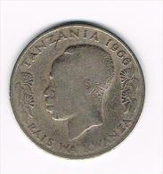 0+  TANZANIA  1 SHILINGI MOJA  1966 - Tanzanie